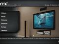 Xbmc Beta 1 - Home screen