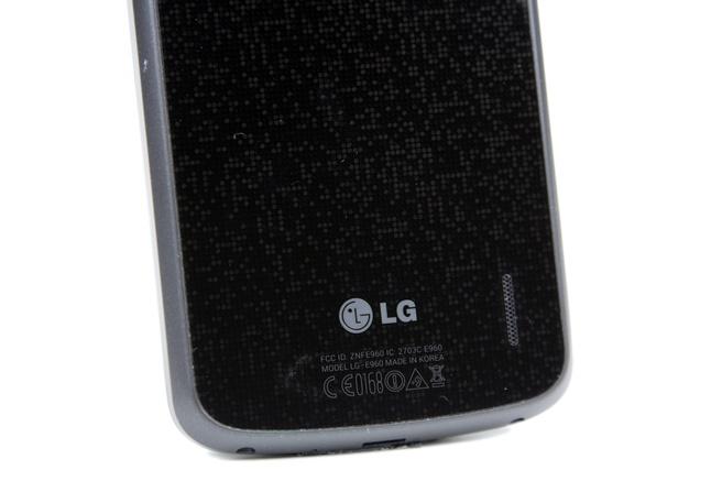 Nexus 4 achterkant