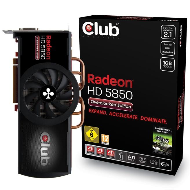 Club3D HD 5850 OC