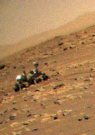 Veduta aerea delle prodezze della NASA