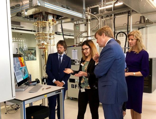 Microsoft Quantum Lab Delft Willem-Alexander