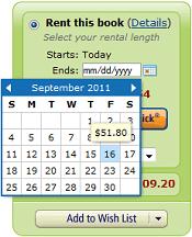 Kindle Textbook Rental