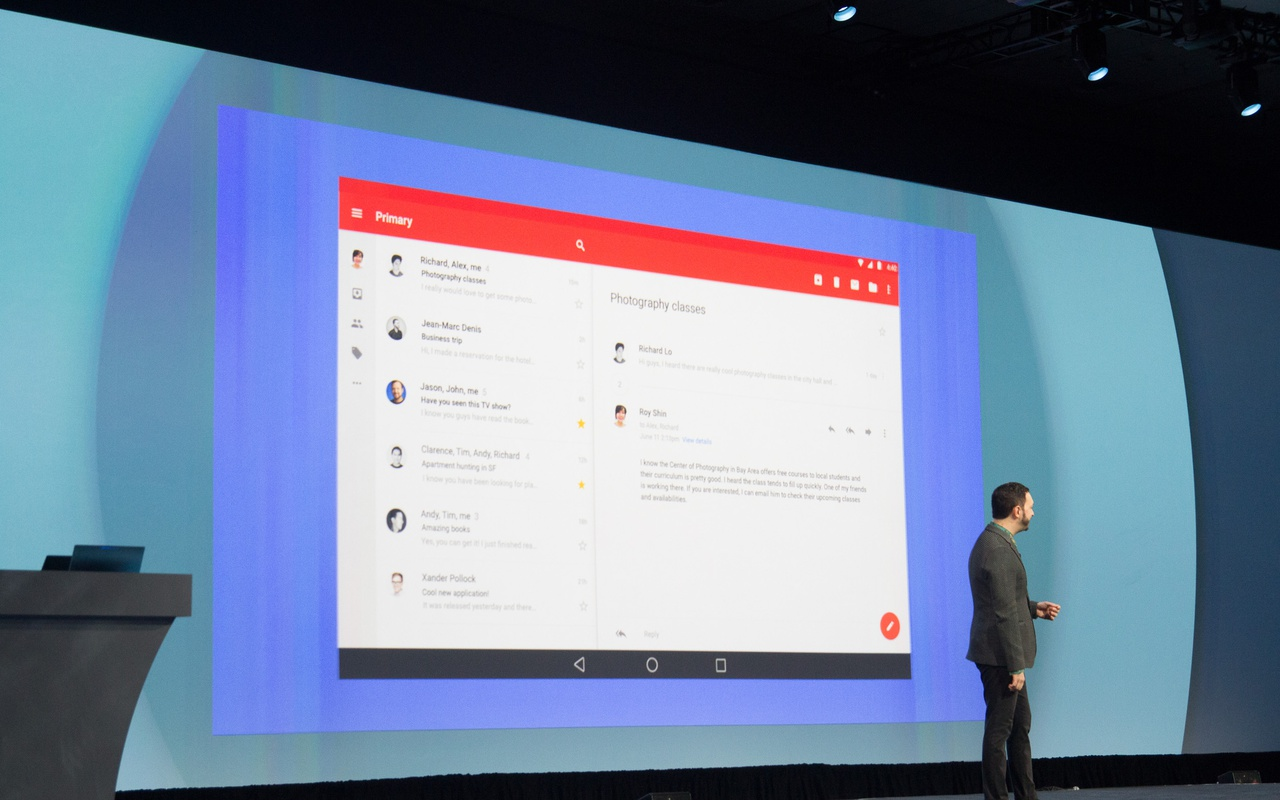 Android L op Google I/O