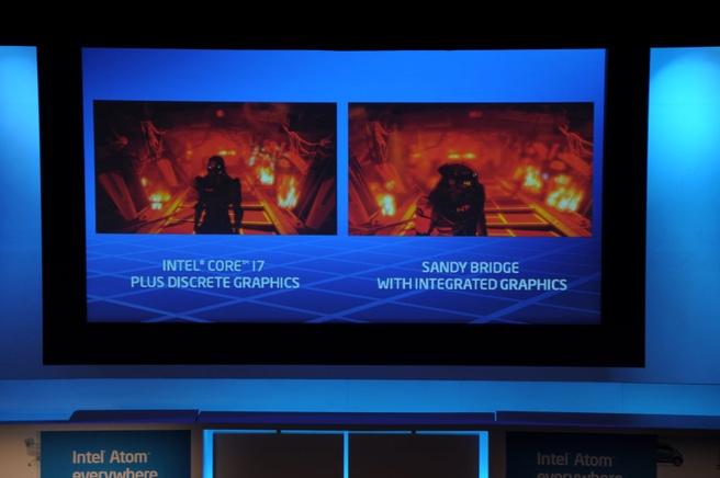 Intel Sandy Bridge demonstratie