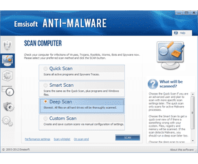 Emsisoft Anti-Malware screenshot