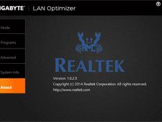 Lan Optimizer About