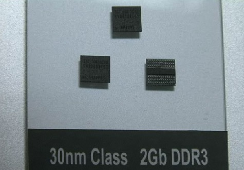 Samsung 30nm ddr3-chips