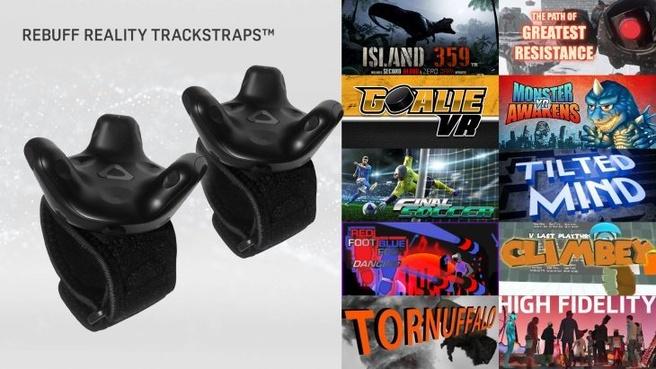 Straps voor Vive Tracker