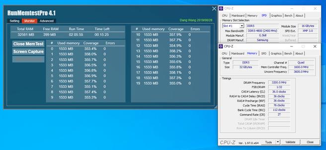 G.Skill Trident Z5 CPU-Z screenshot