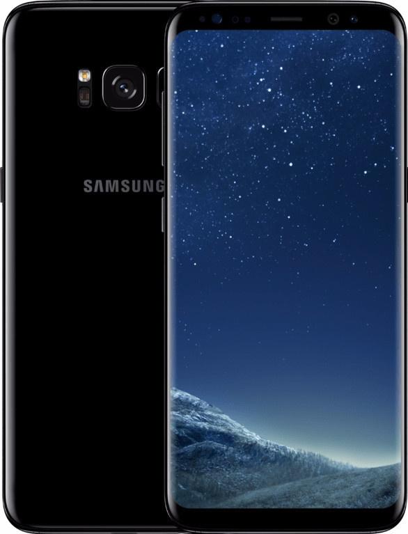 Samsung Galaxy S8 + Strada Lombardi hoesje Zwart