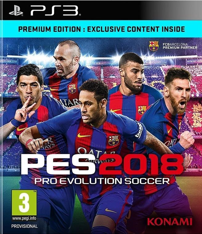 Pro Evolution Soccer 2018, PlayStation 3