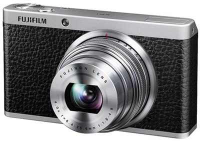 Fujifilm X-compactcamera met handmatige zoom