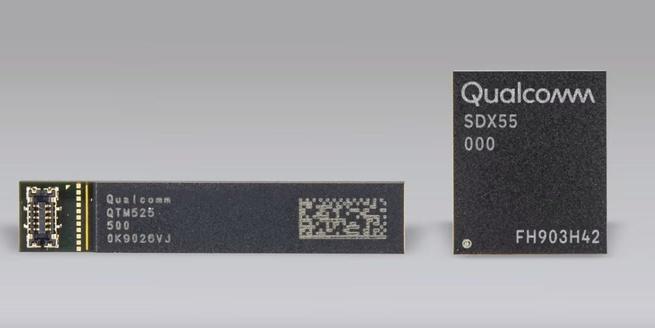 Qualcomm Snapdragon X55 modem