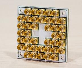 Intel-chip met 17 qubits