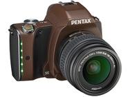 Goedkoopste Pentax K-S1 Standard + DA 18-55mm f/3.5-5.6 AL WR Bruin