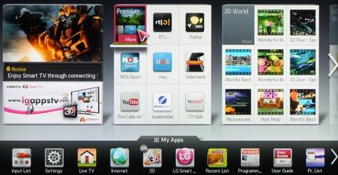 LG LM670S Smart TV