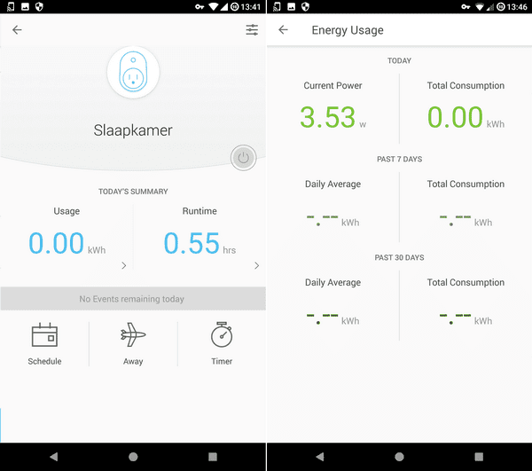Kasa_app_stroommeter
