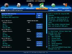 Classic mode – Peripherals – SATA 1