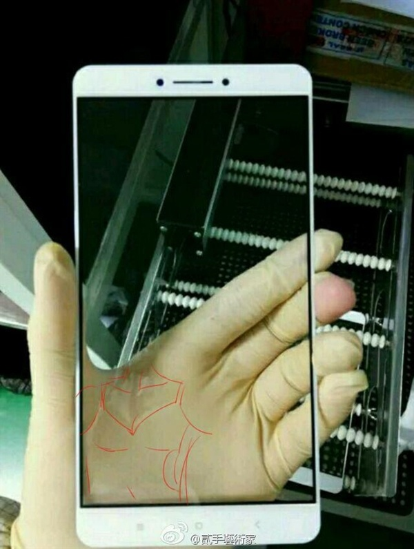 Xiaomi frontpaneel