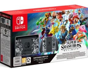 Nintendo Switch Grijs+ Super Smash Bros Ultimate