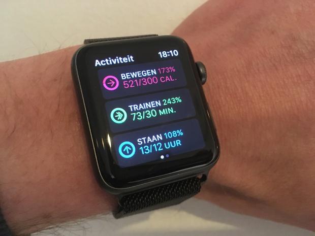 Sinds watchOS 3 en de Series 2 zet Apple flink meer in op sport & activity tracking.
