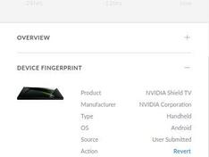 UniFi - Clients - Device Fingerprint - Screenshot