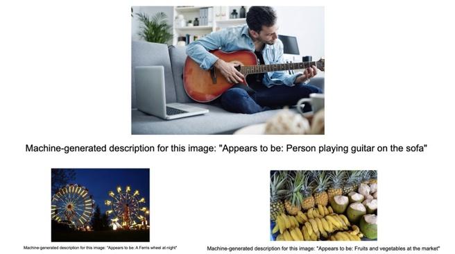 Get Image Description from Google