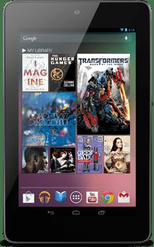 Google Nexus 7 Zwart