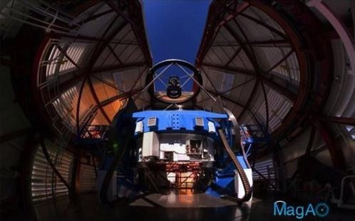 Magellan-telescoop met MagAO