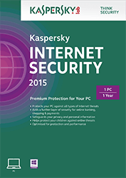 Kaspersky Internet Security 2015, 3 PC, 2 Jaar