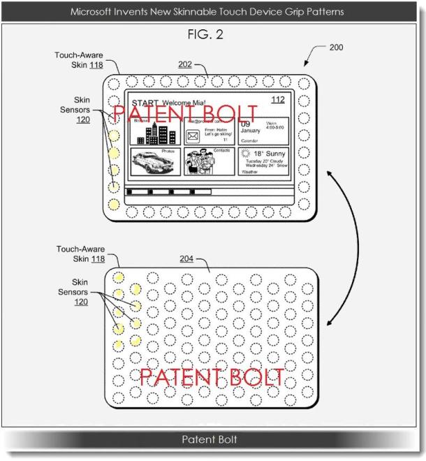 Patentaanvraag Microsoft
