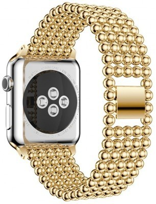 Just in Case Premium Air armband voor Apple Watch (38mm) Goud