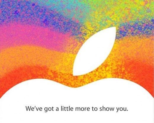Uitnodiging Apple voor event op 23 oktober