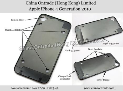 Accessoire voor 'iPhone 4 generation 2010'