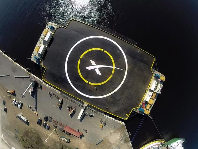 Falcon landplatform