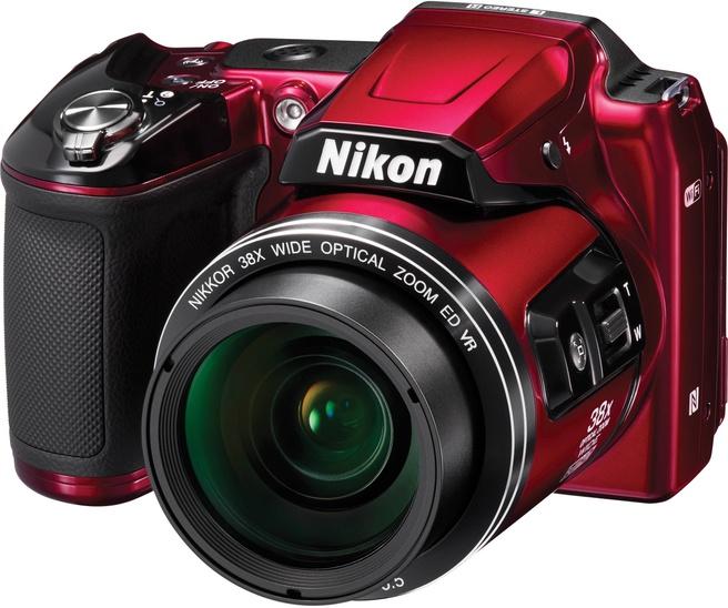 Nikon Coolpix L840 Rood Rood