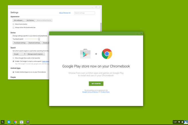 Chrome S Play Store
