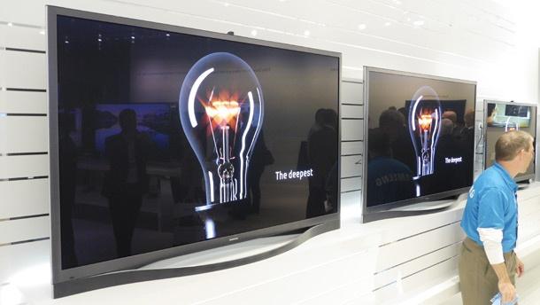 Samsung F8500 plasma tv CES 2013 610px