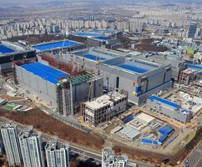 Samsungs S3-lijn in Hwaseong, Korea