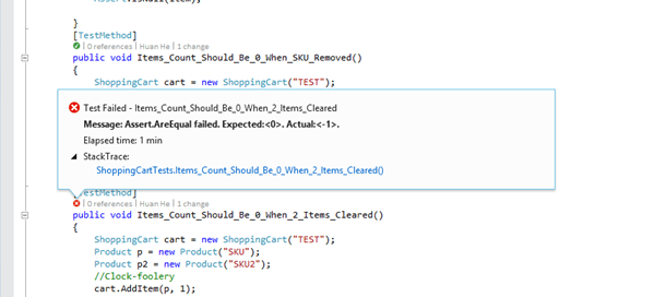 Visual Studio 2013 - Testing
