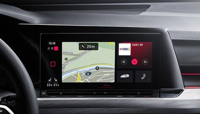 Volkswagen Golf VIII navigatie