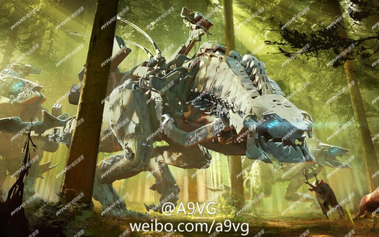 Gerucht: Concept art nieuwe Guerrilla Games-titel uitgelekt