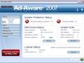 Ad-Aware 2007 - hoofdscherm