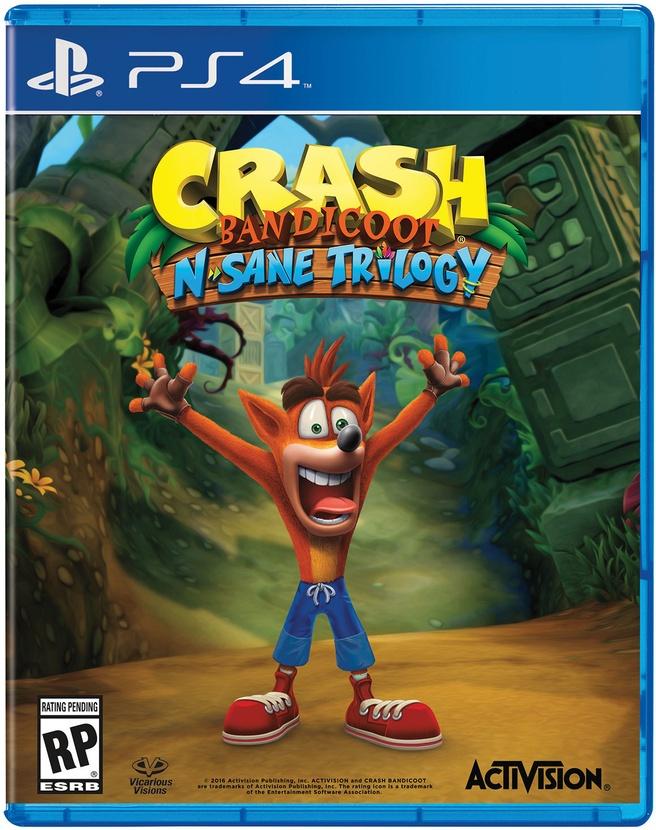 Crash Bandicoot Trilogy Remastered, PlayStation 4