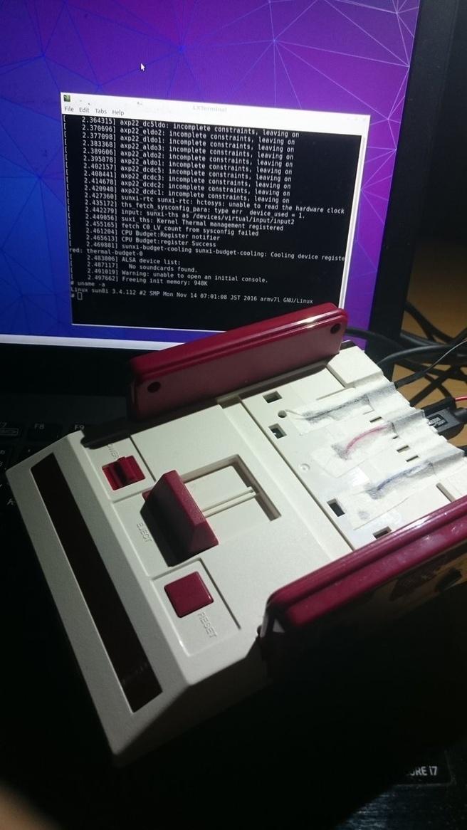 Famicom Linux