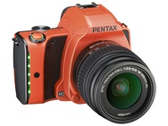 Goedkoopste Pentax K-S1 Night Sky Collection + DA L 18-55mm f/3,5-5,6 AL Oranje
