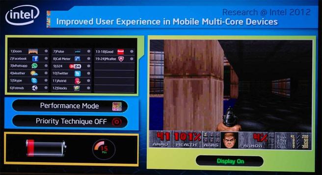 Intel Labs: Doom op een SCC-tablet