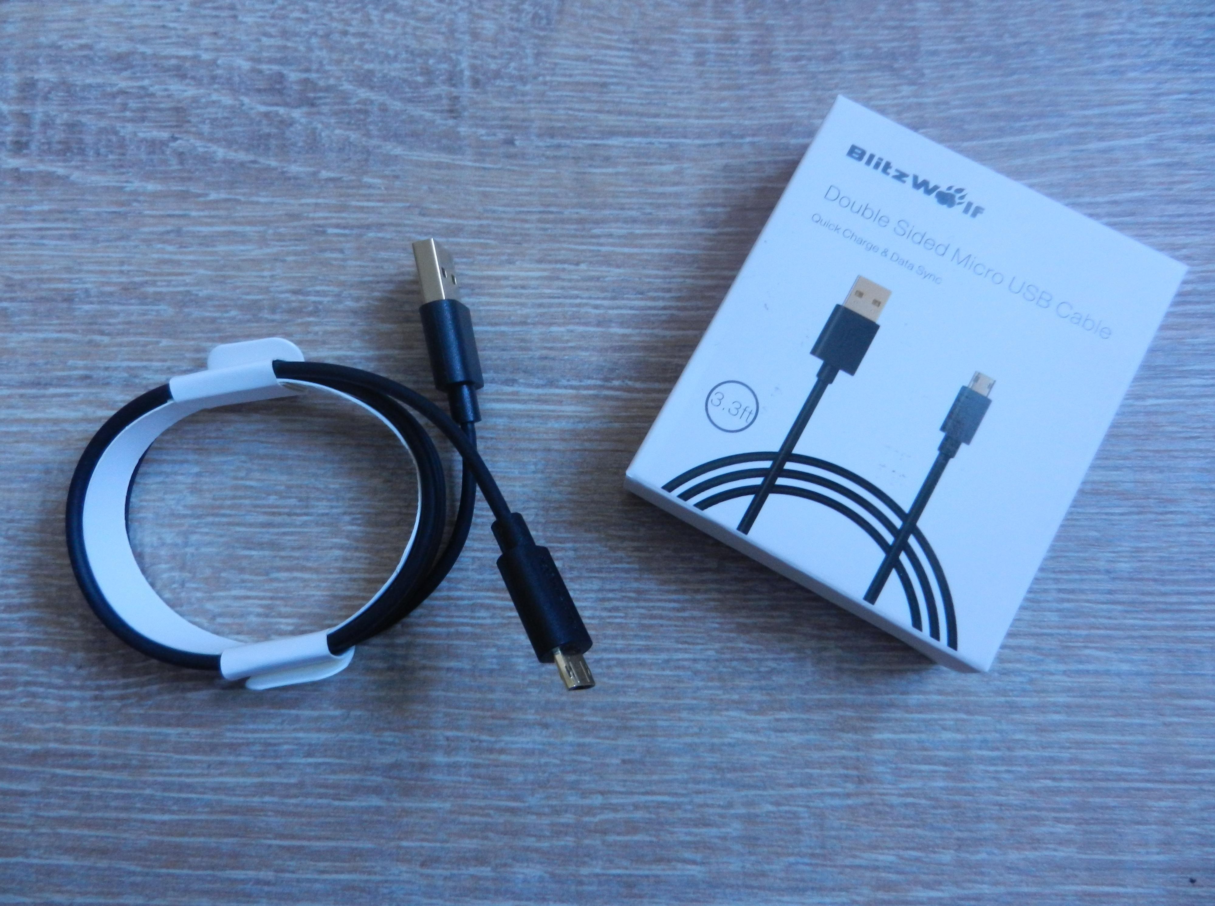 Blitzwolf - double sided - MicroUSB-USB A