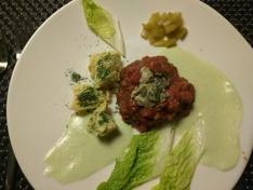 vleesje met oestertje