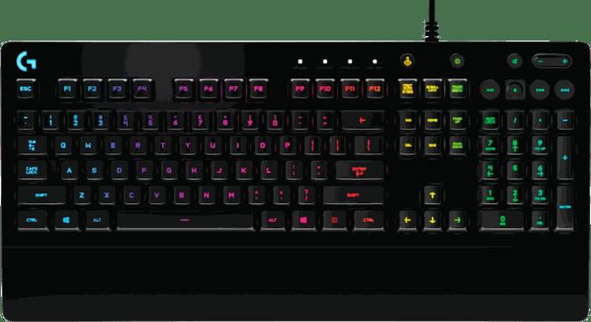 Logitech G213 Prodigy RGB Gaming Keyboard (Qwertz DE)